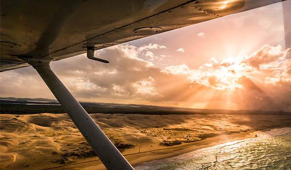 Central Coast Aero Club Stockton Beach/ Port Stephens Joy Flight